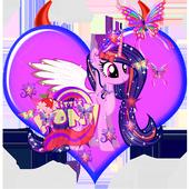 Go my twilight  litle pony Run icon