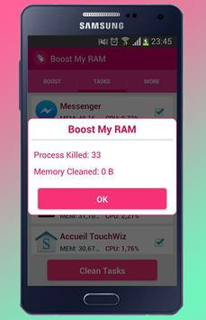 RAM Booster ( accelerate ) apk screenshot
