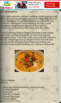 Resep Olahan Kambing screenshot 3