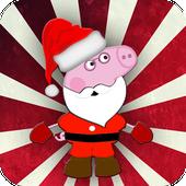 Santa Little Pig icon
