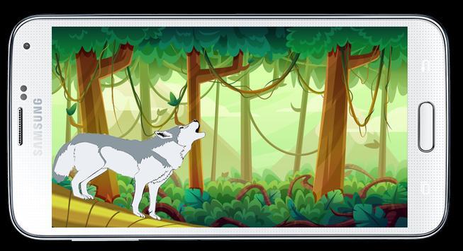 Wolf jungle temple clash screenshot 1