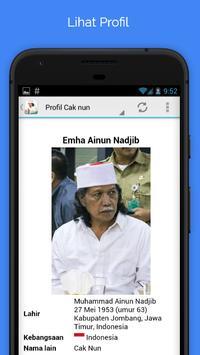 Cak Nun Dan Kyai Kanjeng Full apk screenshot