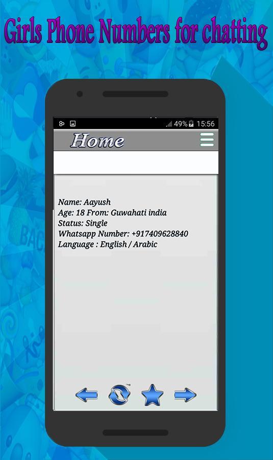 Number girl whatsapp single phone Girls Whatsapp