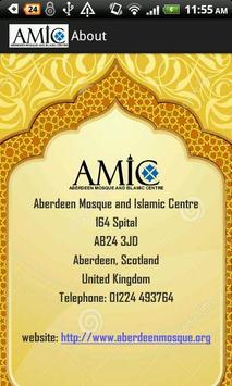 AMIC Aberdeen Mosque screenshot 3