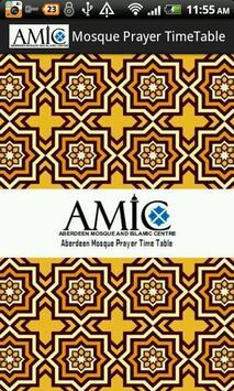 AMIC Aberdeen Mosque poster