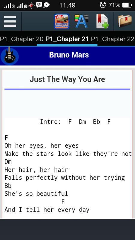 Bruno Mars Guitar Chords APK Download - Free Books & Reference APP ...