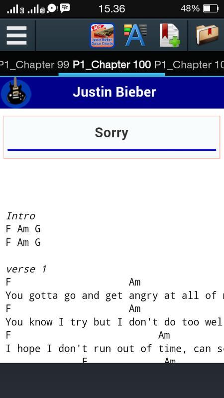 Justin Bieber Guitar Chords Apk Download Free Books Reference