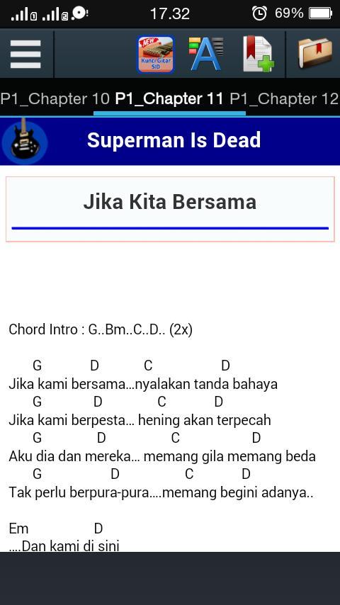 Kunci Gitar Superman Is Dead poster