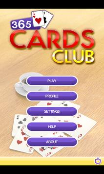 365 Cards Club FREE poster
