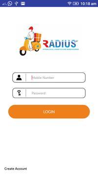 Radius Delivery poster
