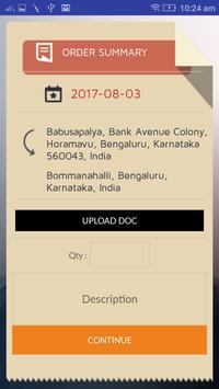Radius Delivery apk screenshot
