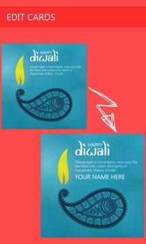 Name on Diwali Greetings Cards poster