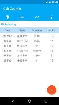 Kick Counter screenshot 2