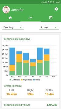 Baby tracker - feeding, sleep and diaper APK-screenhot