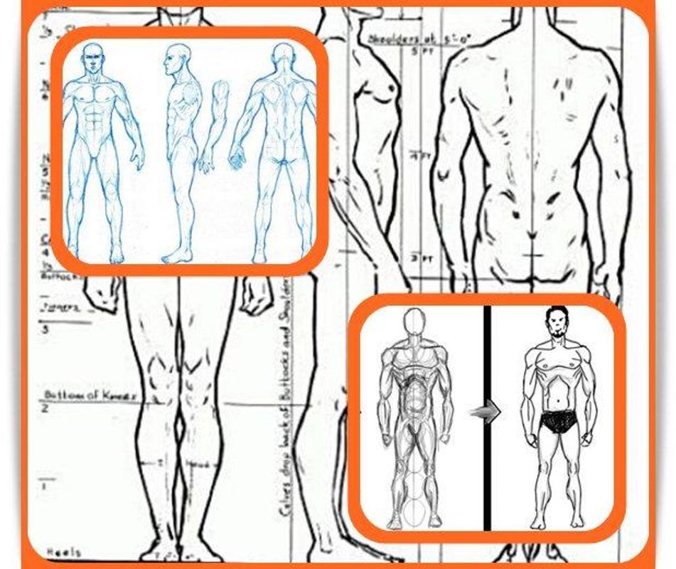 Learn To Draw Human Body Apk