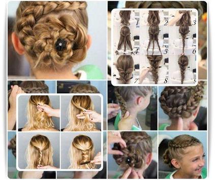 Cute Hairstyles Step By Step screenshot 2
