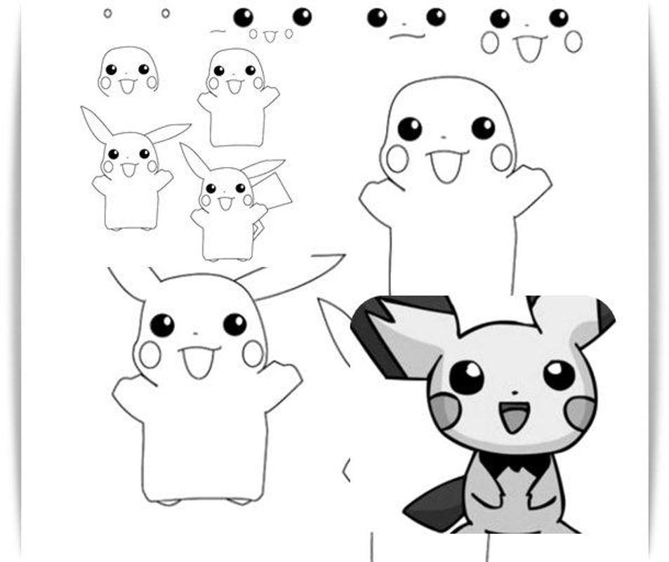 aprenda a desenhar pokemon apk baixar grátis educação aplicativo