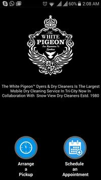 The White Pigeon Dry Cleaners poster