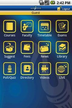Amity University screenshot 6