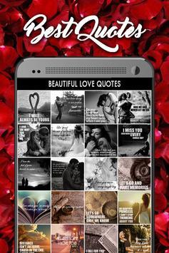 Beautiful Love Quotes screenshot 2