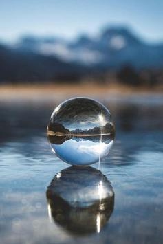 Dream Water Drop Wallpaper poster