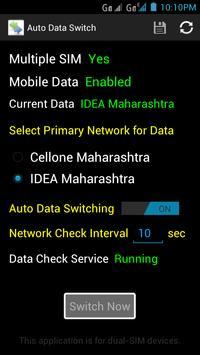 Auto Data Switch screenshot 1
