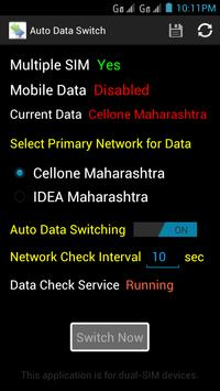 Auto Data Switch screenshot 2