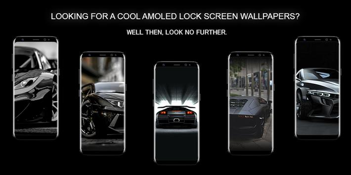 Sports Cars AMOLED Wallpapers for unlock screen poster