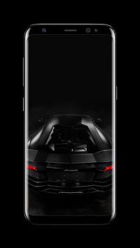 Sports Cars AMOLED Wallpapers for unlock screen screenshot 1