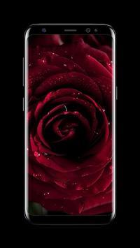Flowers AMOLED Wallpaper for lock screen screenshot 2