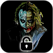 Joker Dark Black AMOLED Lock Screen Wallpaper simgesi