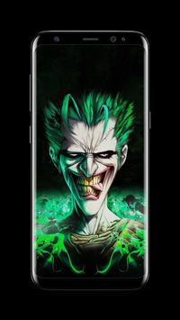 Joker Dark Black AMOLED Lock Screen Wallpaper Ekran Görüntüsü 7