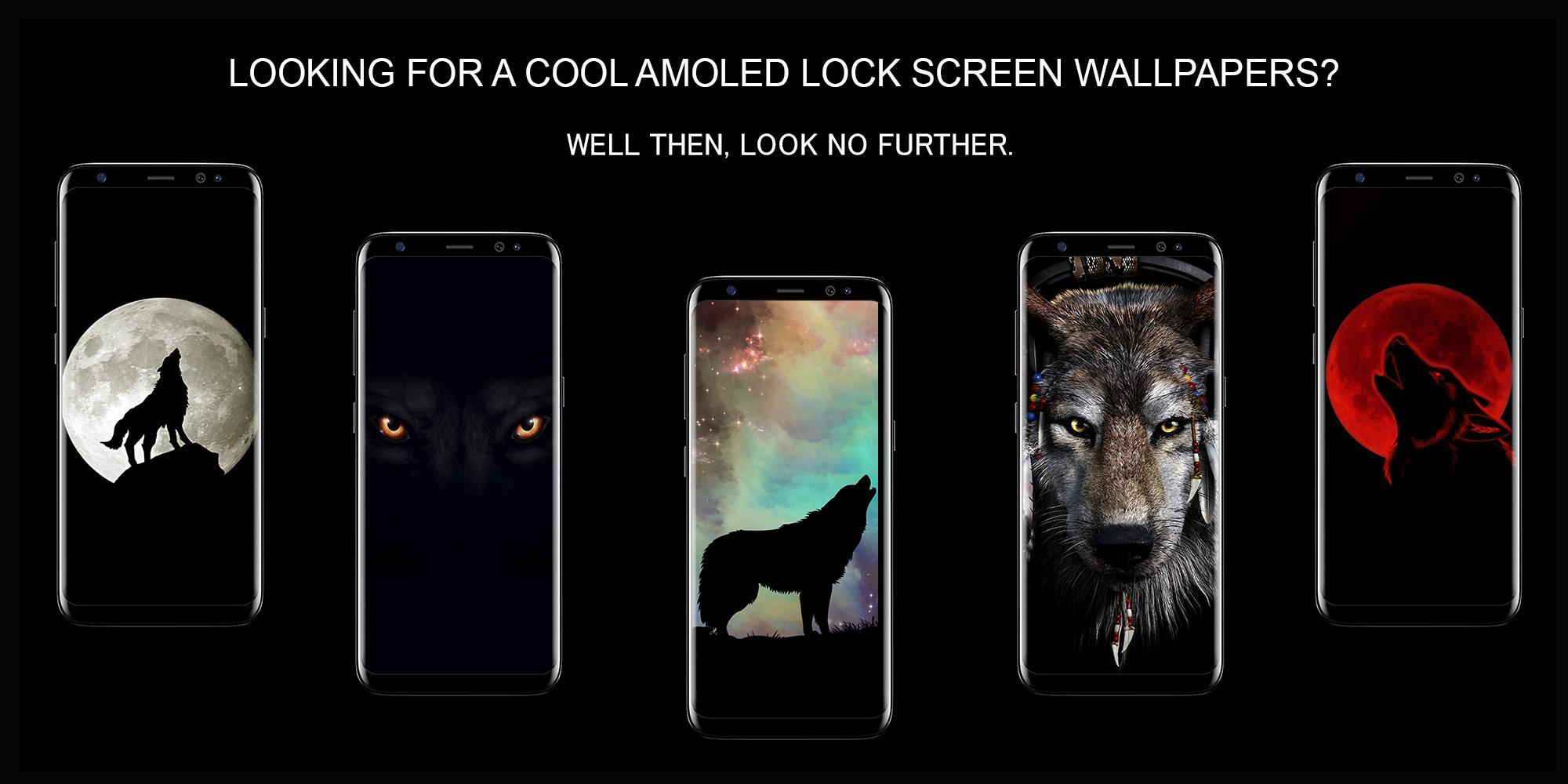 Lone Wolf Black Lock Screen Wallpaper For Android Apk Download