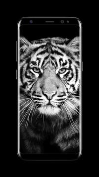 Tiger - AMOLED Wallpaper for lock screen screenshot 1