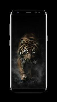 Tiger - AMOLED Wallpaper for lock screen screenshot 6
