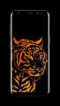 Tiger - AMOLED Wallpaper for lock screen screenshot 7