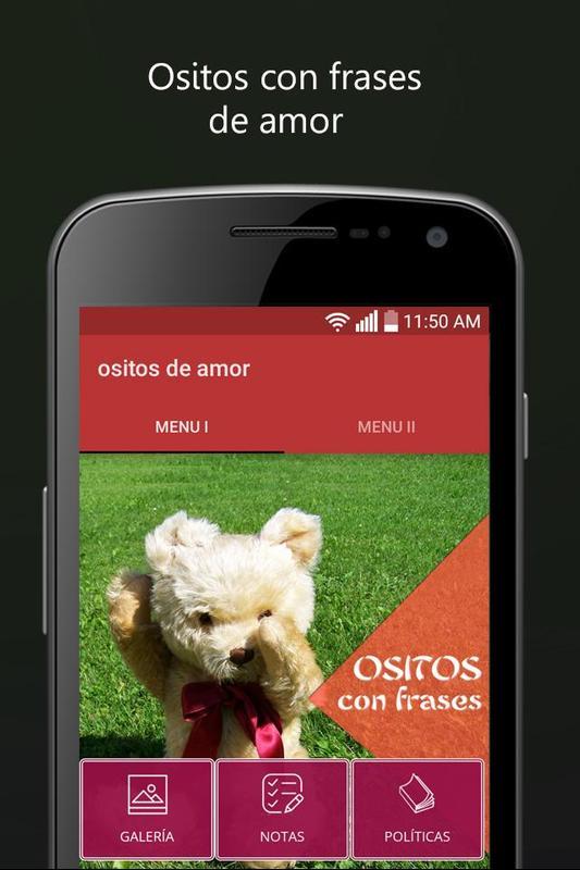 Ositos Con Frases De Amor Con Ositos Carinositos Para Android Apk