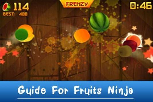 Guide For Fruits Ninja poster