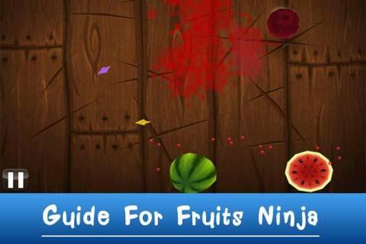 Guide For Fruits Ninja apk screenshot