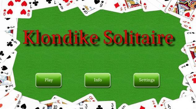 Klondike Solitaire poster
