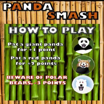 PandaSmash poster