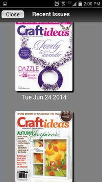 Craft Ideas Magazine apk screenshot