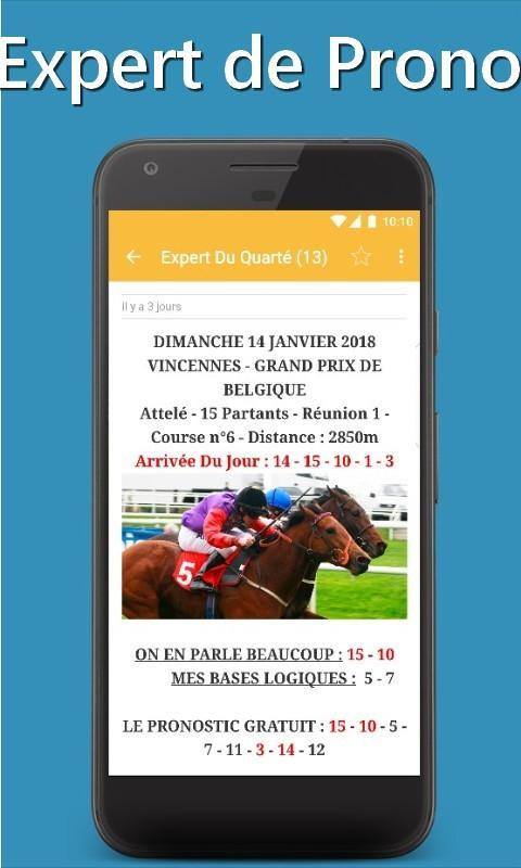 Turf Pronostic Pro for Android - APK Download