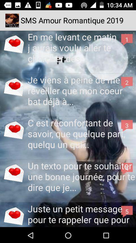 Meilleurs Sms Amour 2019 For Android Apk Download