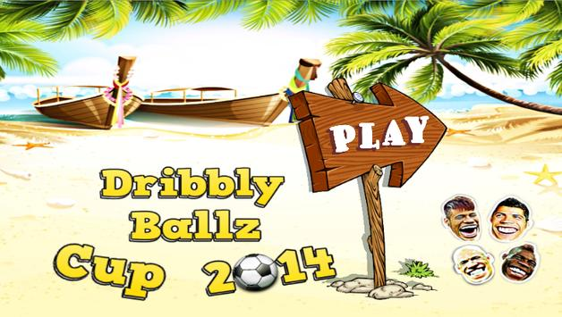 Dribbly Ballz Cup poster