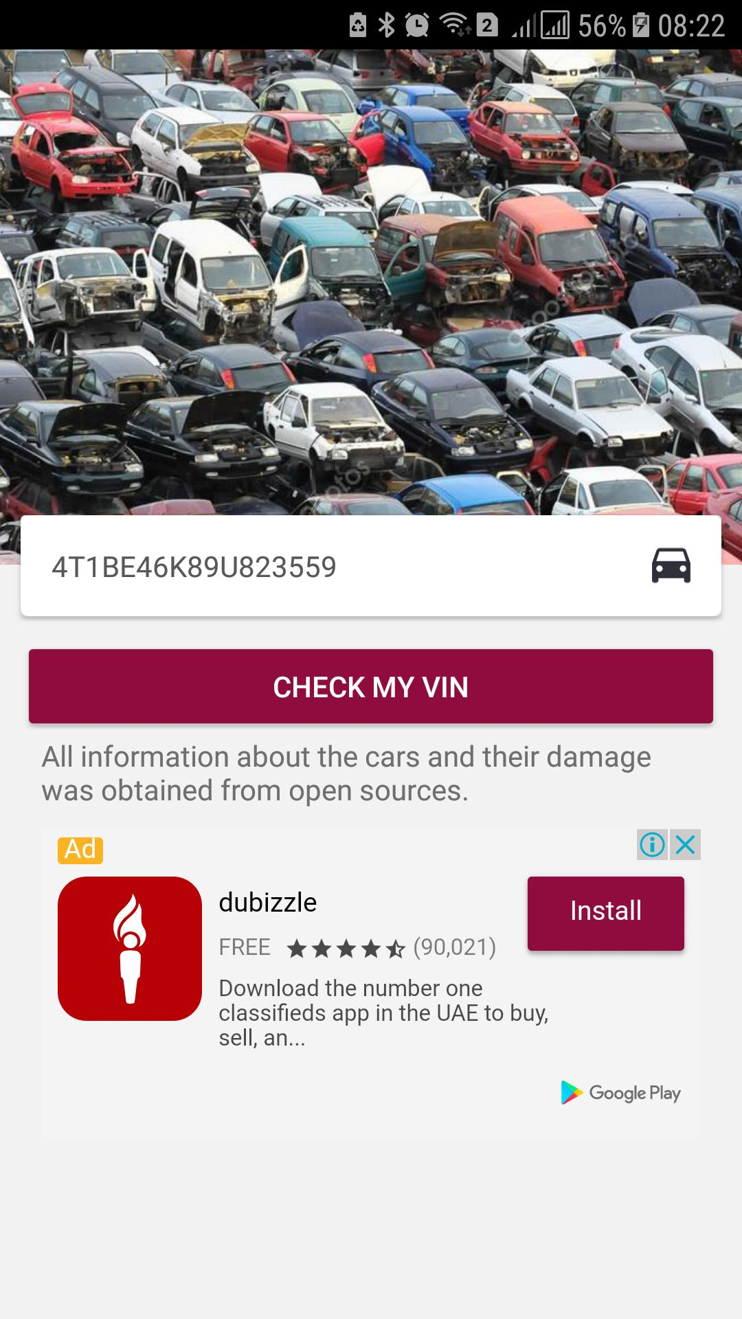 Salvage Car Checker for Android - APK Download
