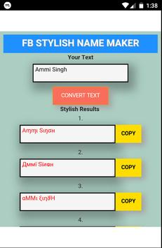 fb stylish name maker for android apk download
