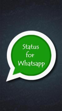 Latest Whatsap Status poster