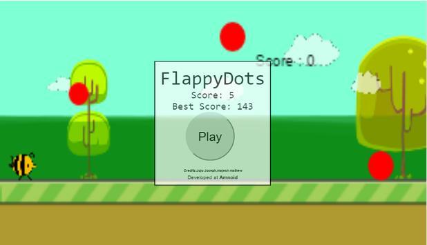 flappy dots apk screenshot