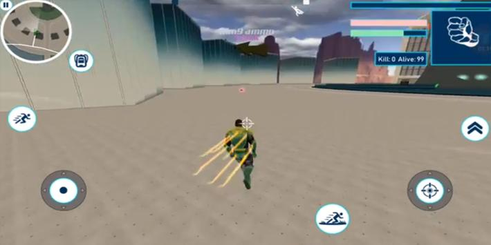 Guide for Superhero Battleground apk screenshot